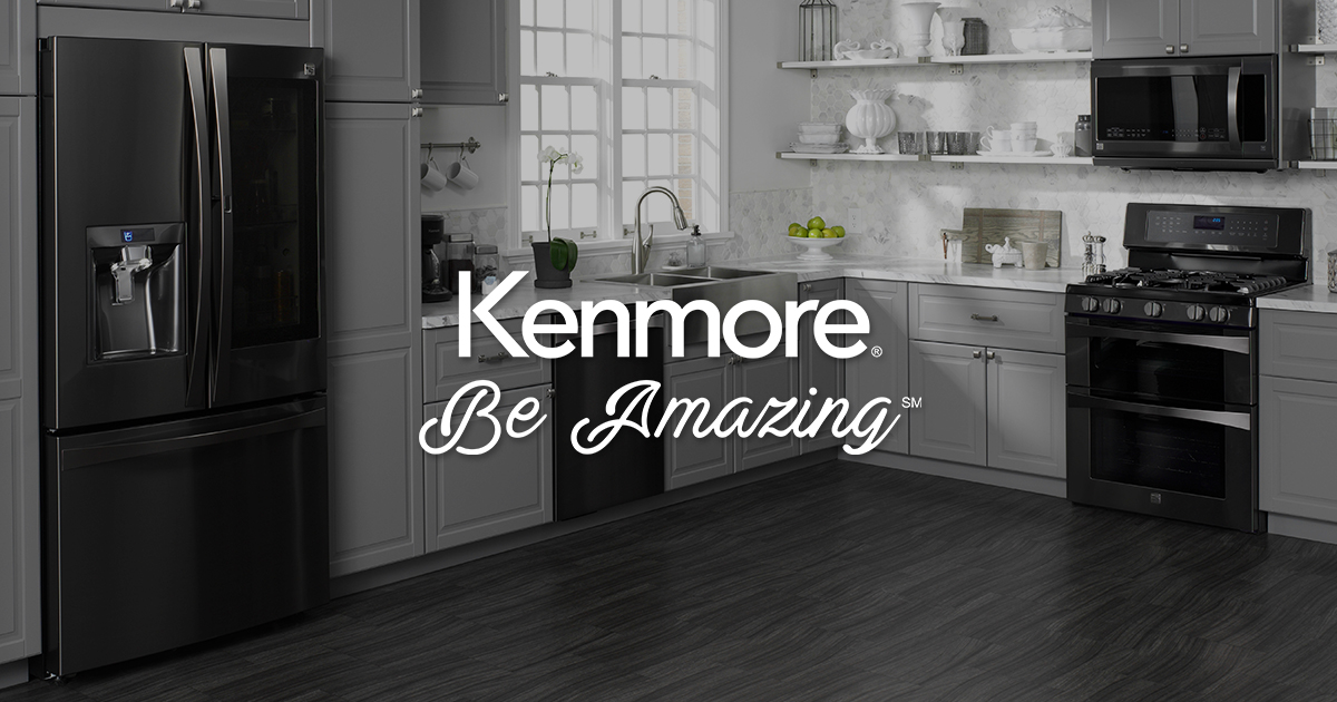 Beau Black Stainless Steel Appliances | Kenmore