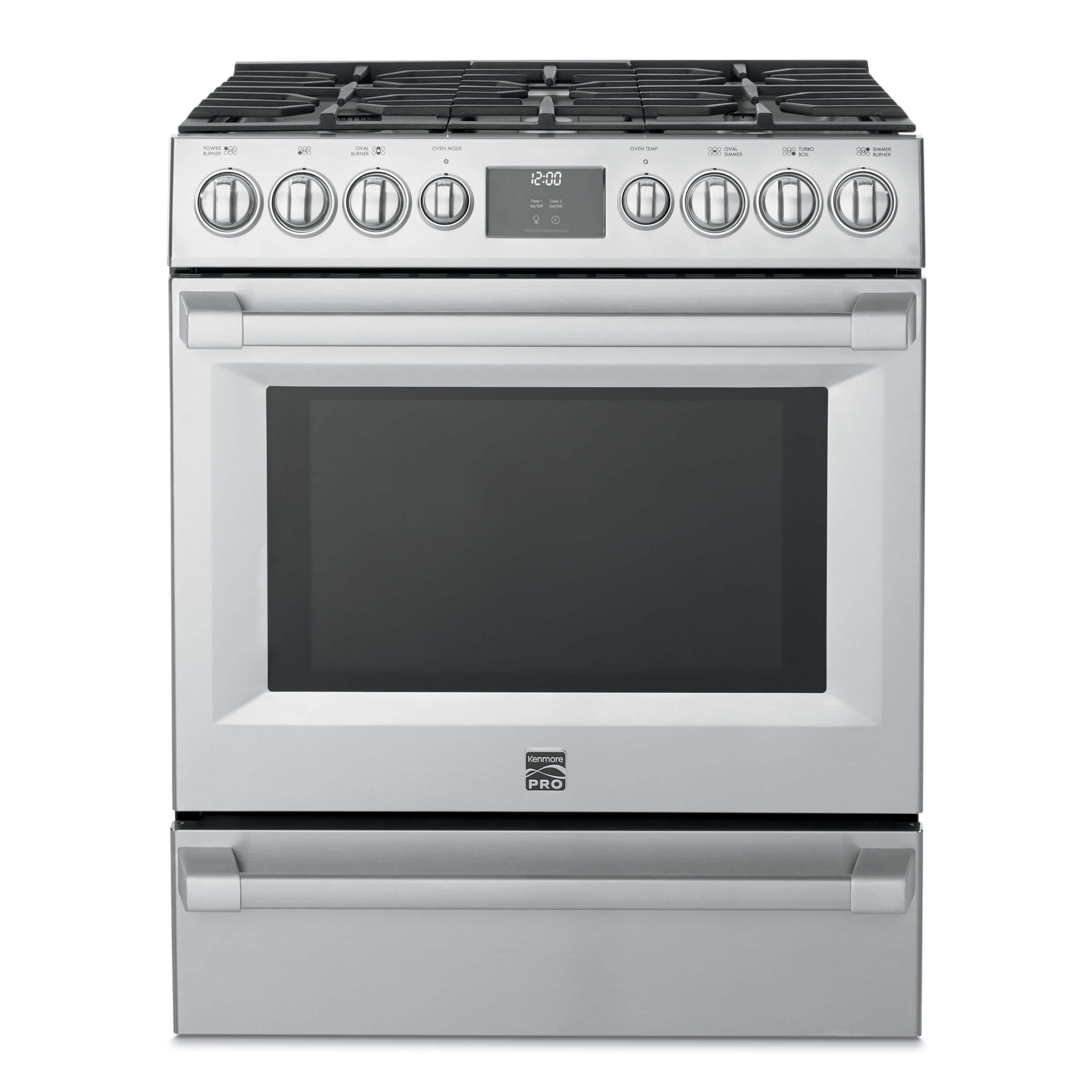 Kenmore PRO® 30u2033 Single Cavity Gas Front Control Freestanding Range ...