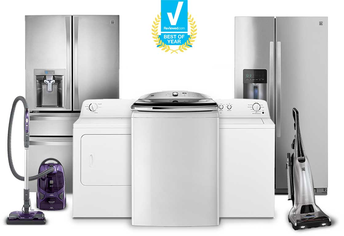 Kenmore Appliances for Kitchen, Laundry & Home