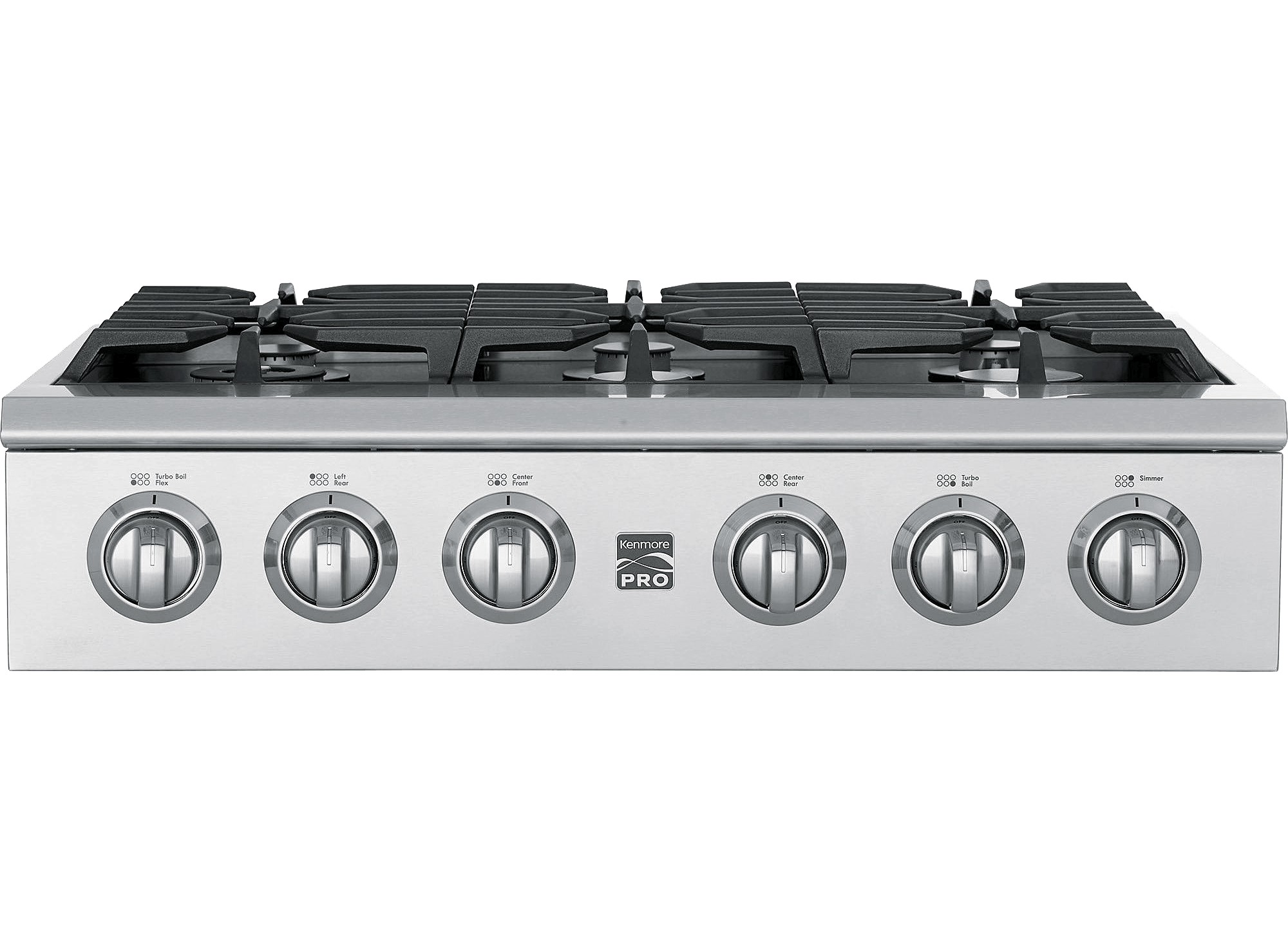 Cooktops Gas Electric And Downdraft Kenmore