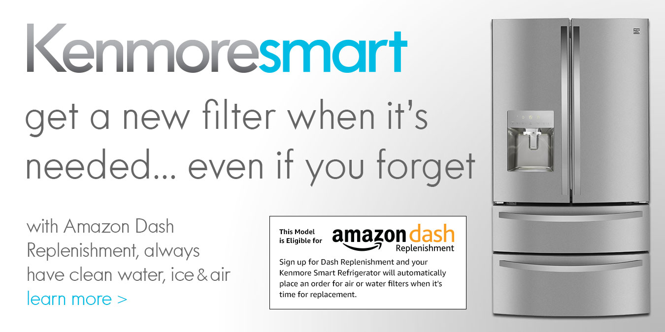 Kenmore Smart Amazon Dash Replenishment