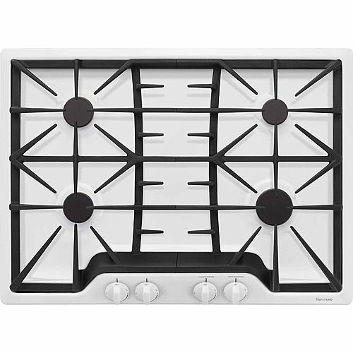 "Kenmore 32532  30"" Gas Cooktop - White"
