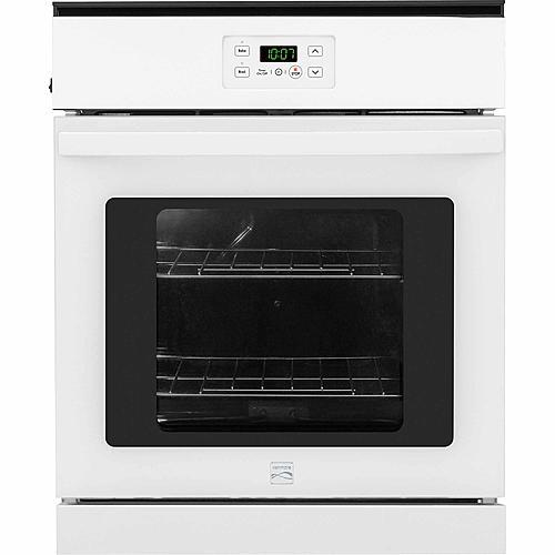 "Kenmore 40272  24"" Manual Clean Electric Wall Oven - White"