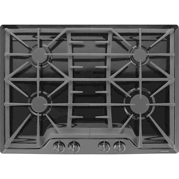 "Kenmore 32539  30"" Gas Cooktop - Black"