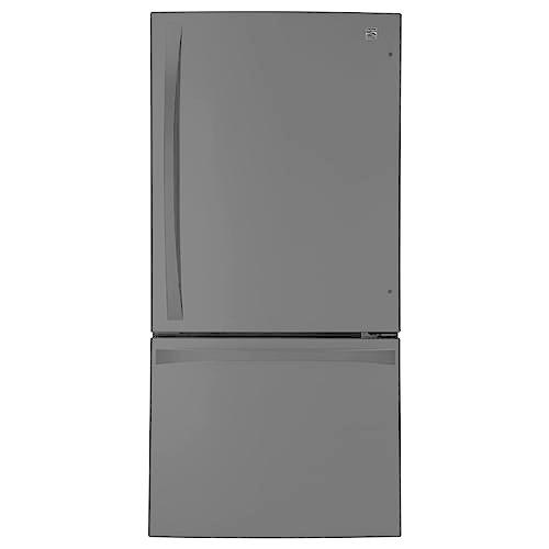 Kenmore Elite 79049  24.1 cu. ft. Bottom-Freezer Refrigerator - Black