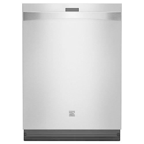 Kenmore Elite 12793 Dishwasher with 360° PowerWash Plus/SmartDry - Stainless Exterior with Stainless Interior Tub at 39dBa