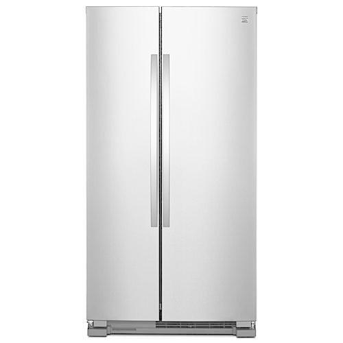 Kenmore 41173 25 cu. ft. Side-by-Side Refrigerator - Stainless Steel