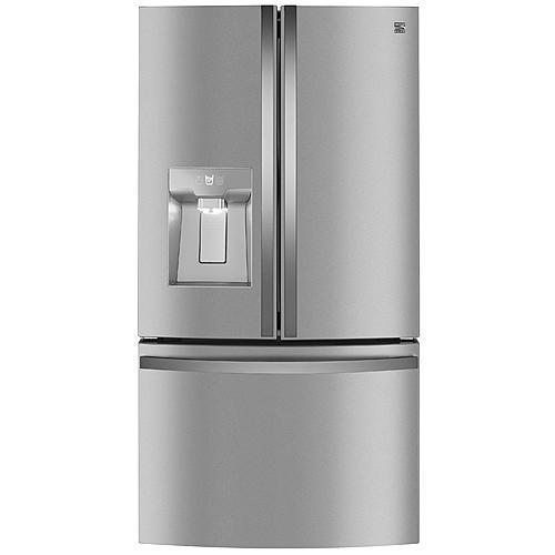 Kenmore Elite 74113 31.7 cu. ft. Smart French Door Refrigerator - Stainless Steel