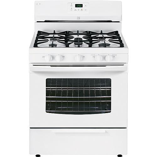 Kenmore 73432  4.2 cu. ft. Gas Range w/ Broil & Serve Drawer - White
