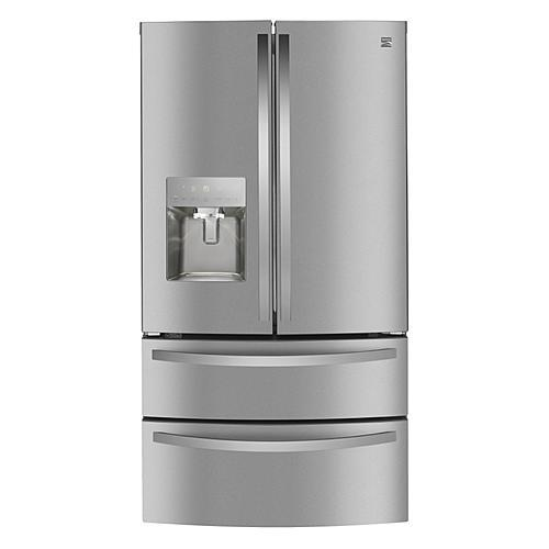 Kenmore 72595 27.8 cu. ft. Smart 4-Door Fingerprint Resistant Refrigerator - Stainless Steel