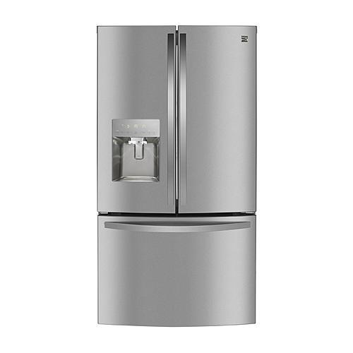Kenmore 73105 27.9 cu. ft. Smart French Door Fingerprint Resistant Refrigerator - Stainless Steel