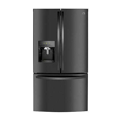Kenmore 73107 27.9 cu. ft. Smart French Door Refrigerator - Black Stainless Steel