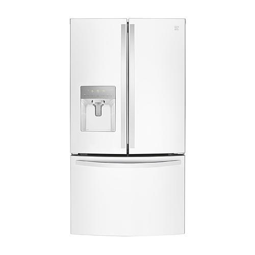 Kenmore 73102 27.9 cu. ft. Smart French Door Refrigerator - White