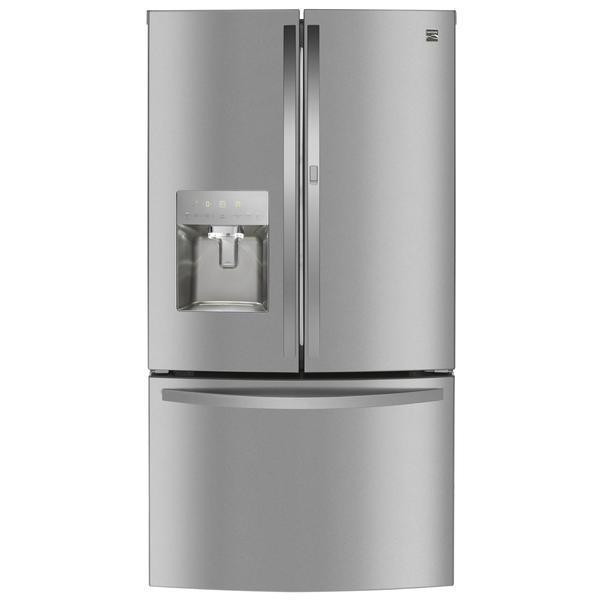 Kenmore 73115 27.7 cu. ft. Smart French Door Fingerprint Resistant Refrigerator - Stainless Steel