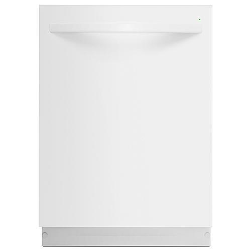 Kenmore 13542 Dishwasher with Steel Tub/Power Wave Spray Arm - White Exterior with Stainless Steel Tub at 50 dBa