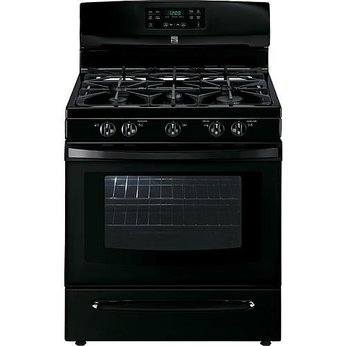Kenmore 74139  5.0 cu. ft. Freestanding Gas Range  w/Variable Self-Clean; - Black