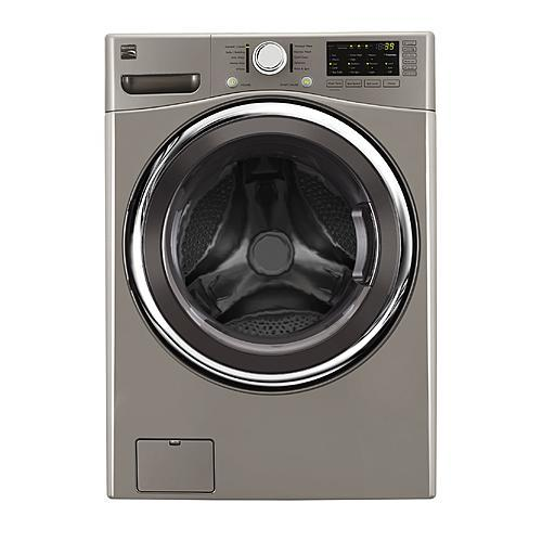 Kenmore 41393  4.5 cu. ft. Front-Load Washer w/Accela Wash - Metallic Silver