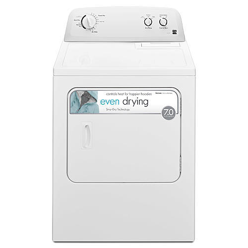 Kenmore 62332 7.0 cu. ft. Electric Dryer w/ Wrinkle Guard - White