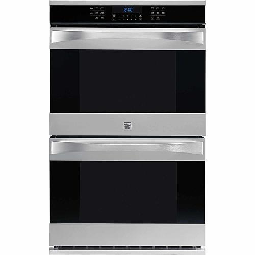 """Kenmore Elite 48453  30"""" Electric Double Wall Oven - Stainless Steel"""