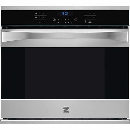 """Kenmore Elite 48353  30"""" Electric Single Wall Oven - Stainless Steel"""