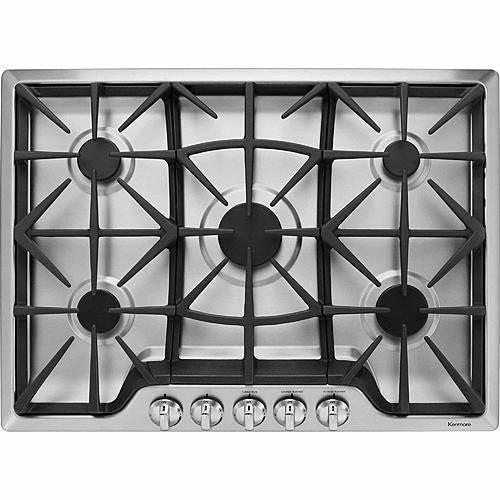 "Kenmore 32683  30"" Gas Cooktop - Stainless Steel"