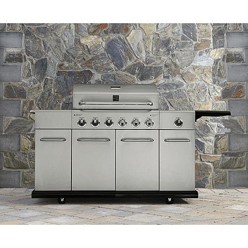 Kenmore 6-Burner Gas Grill with Storage