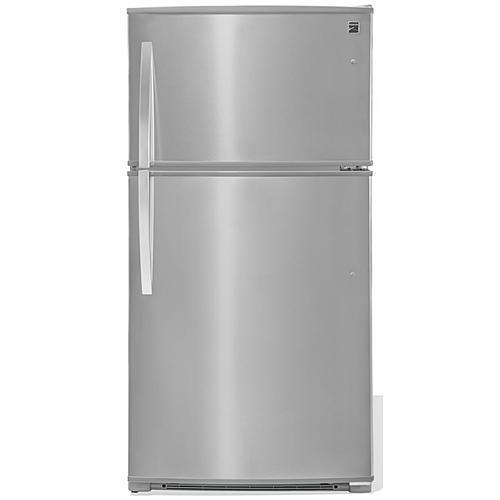 Kenmore 71215  21 cu. ft. Top-Freezer Refrigerator w/ Ice Maker - Fingerprint Resistant Stainless Steel