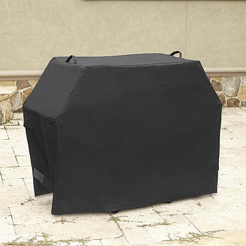 """Kenmore 80"""" x 26"""" x 46"""" Grill Cover - Black"""