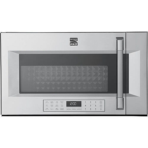 Kenmore Pro 89393  1.8 cu. ft. Over-the-Range Convection Microwave - Stainless Steel