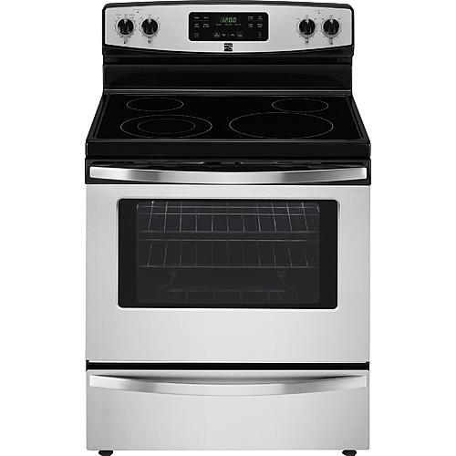 Kenmore 94173 5.3 cu. ft. Electric Freestanding Range with Self-Clean - Stainless Steel