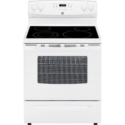 Kenmore 94172  5.3 cu. ft. Self-Cleaning Electric Range - White