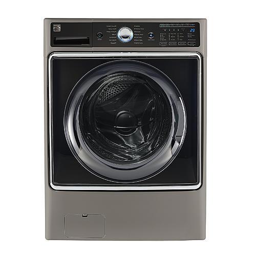 Kenmore Elite 41983 5.2 cu ft. Smart Front Load Washer w/ Accela Wash Technology - Silver