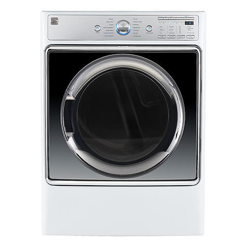 Kenmore Elite 91982  Smart 9.0 cu. ft. Gas Dryer w/ Accela Steam Technology - White