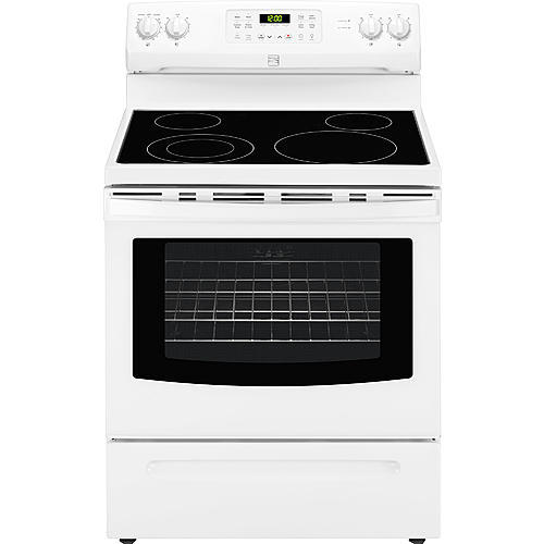 Kenmore 96182  5.4 cu. ft. Electric Range w/Convection - White