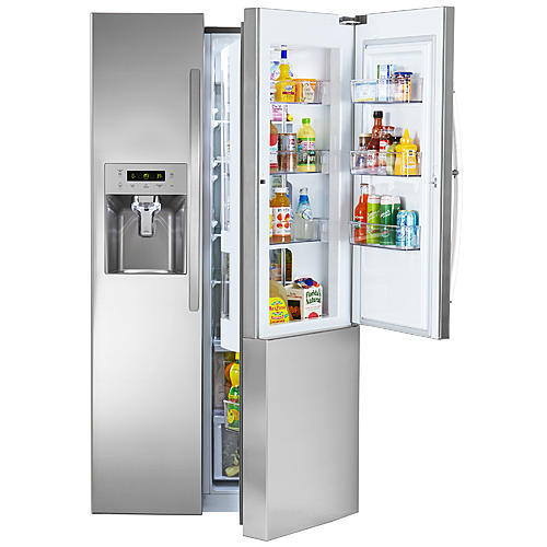 Kenmore 51833  26.1 cu. ft. Side-by-Side Refrigerator with Grab-N-Go Door