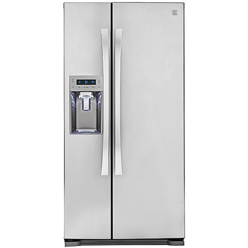 Kenmore Elite 51823  21.9 Cu. Ft. Side-by-Side Refrigerator with Dispenser - Stainless Steel
