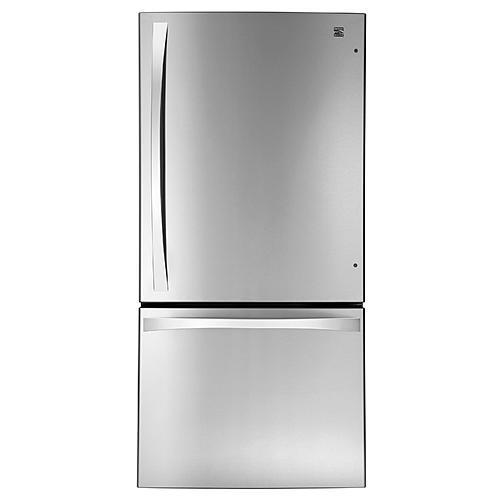 Kenmore Elite 79043  24.1 cu. ft. Bottom-Freezer Refrigerator - Stainless Steel