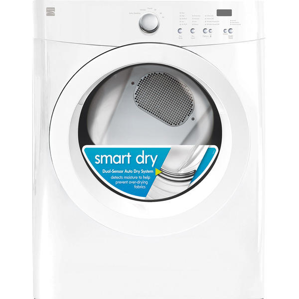 Kenmore 91122 7.0 cu. ft. Gas Dryer with Wrinkle Guard - White