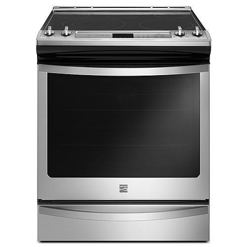 Kenmore 95123  6.4 cu. ft. Slide-In Electric Range with True Convection – Stainless Steel