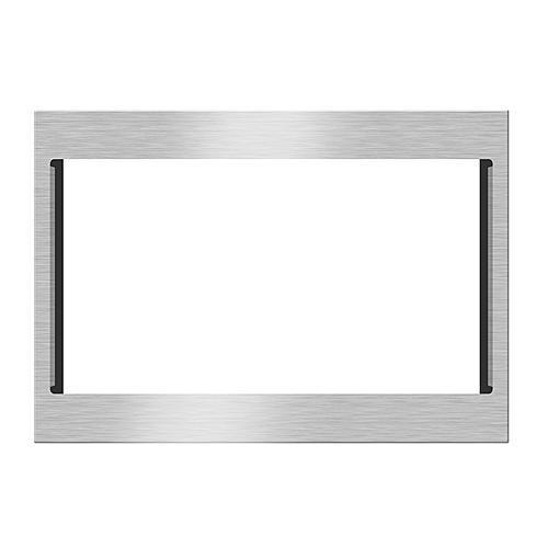 """Kenmore 22703 27"""" Mircowave Trim Kit - Stainless Steel"""