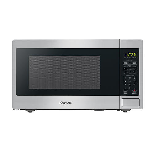 Kenmore 71313 1.3 cu. ft. Countertop Microwave Oven - Stainless Steel