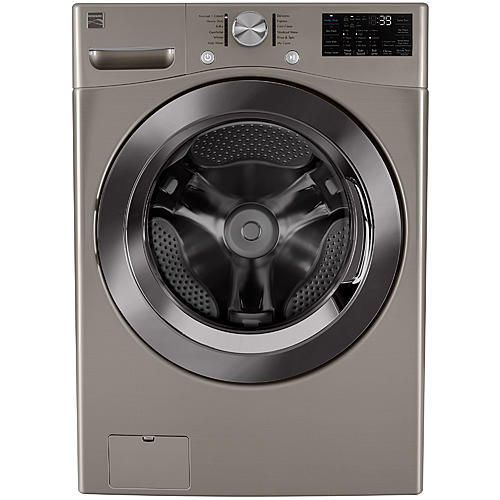 Kenmore 41463  4.5 cu. ft. Smart Wi-Fi Enabled Front Load Washer w/ Accela Wash® – Metallic Silver