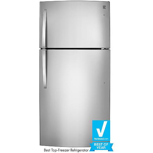 Kenmore 79433 23.8 cu. ft. Top-Freezer Refrigerator w/ Internal Water Dispenser - Stainless