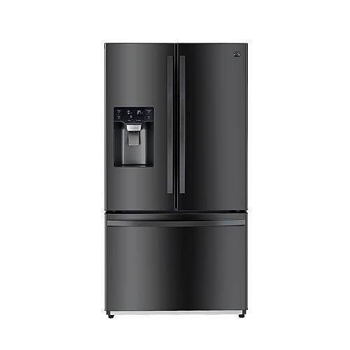 Kenmore 75507  25.5 cu. ft. French Door Refrigerator with Dual Ice Makers - Black Stainless Steel