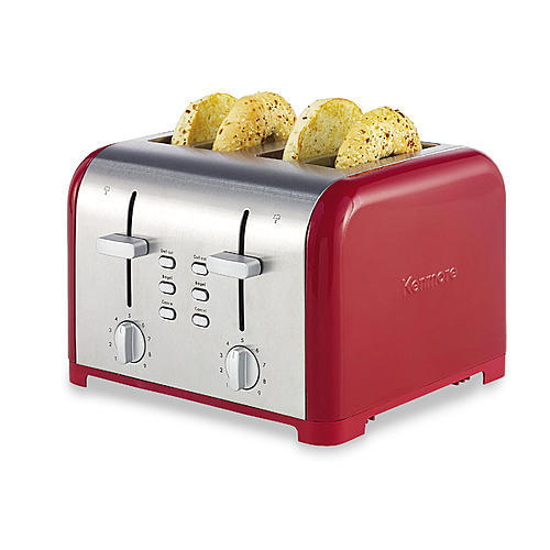 Kenmore 138505  4-Slice Adjustable Toaster - Red