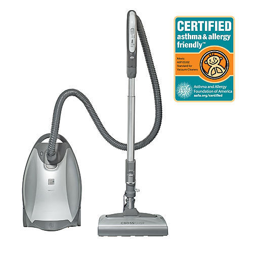 Kenmore Elite 21814  Pet Friendly CrossOver Canister Vacuum - Silver/Gray