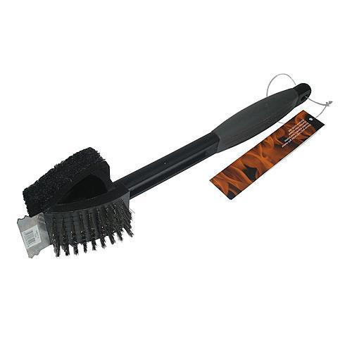 Kenmore Deluxe Grip Long Plastic Handle Grill Cleaner