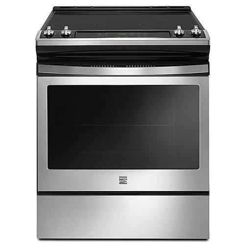 Kenmore 95113  4.8 cu. ft. Freestanding Electric Range with Turbo Boil – Stainless Steel