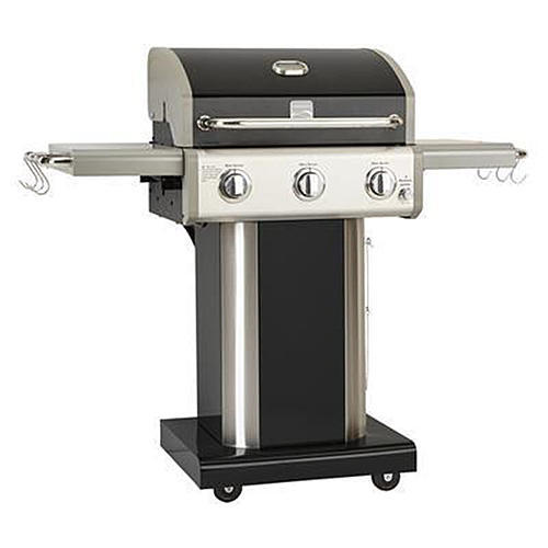 Kenmore 3-Burner LP Grill - Black