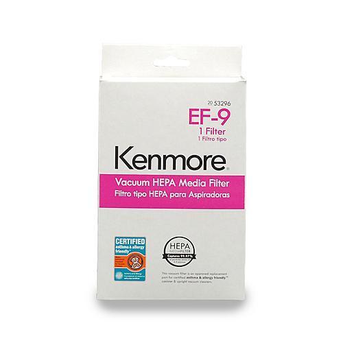 Kenmore 53296  HEPA Vacuum Media Filter EF-9